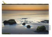 Wet Sunset Reflections Carry-all Pouch
