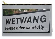 Wetwang Village Sign Yorkshire Carry-all Pouch