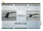 Whale Tails Carry-all Pouch