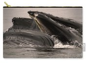 Whales Feeding Carry-all Pouch