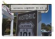 Whaley House Us Hwy 101 Historic Route Carry-all Pouch
