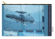 Whaling Wall 42 -  East Coast Humpbacks - Original Painting By Wyland Carry-all Pouch