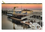 Wharf #2 In Monterey At Sunset Carry-all Pouch