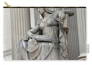 What Is Past Is Prologue Statue At National Archives -- 2 Carry-all Pouch