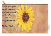 What Sunflowers Do Carry-all Pouch