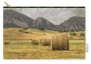 What The Hay Carry-all Pouch by Juli Scalzi