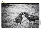 What The Raven Said Carry-all Pouch by Susan Capuano