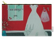Whatever I Was Looking For Was Always You - Rumi Quote Carry-all Pouch