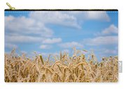 Wheat Field Cloudscape Carry-all Pouch