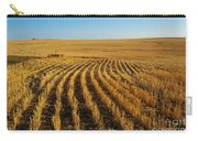 Wheat Rows Carry-all Pouch