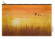 Wheatfield At Sunset Carry-all Pouch