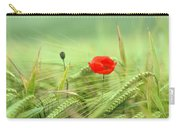 Wheatfield Poppy Carry-all Pouch