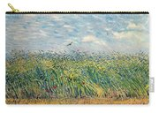 Wheatfield With Lark Carry-all Pouch