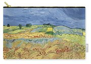 Wheatfield With Stormy Sky Carry-all Pouch
