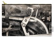 Wheel And Steam Carry-all Pouch
