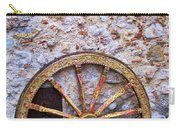 Wheel And Sun In Taromina Sicily Carry-all Pouch