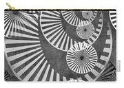 Wheel In The Sky Bw Carry-all Pouch by Angelina Vick