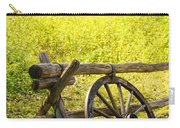 Wheel On Fence Carry-all Pouch