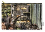 Wheels Of Time Carry-all Pouch by Benanne Stiens