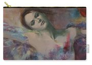 When A Dream Has Colored Wings Carry-all Pouch by Dorina  Costras