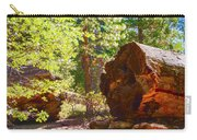 When Giants Fall Carry-all Pouch by Barbara Snyder