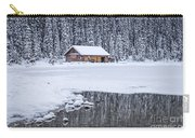 When It Snows Outside Carry-all Pouch by Evelina Kremsdorf
