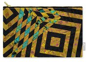 When Squares Merge Yellow Carry-all Pouch