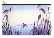When The Sky Melts With Water A Peaceful Pond Carry-all Pouch