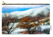 When Winter Blankets Autumn Carry-all Pouch