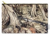 Where Often You And I Upon Fain Primrose Beds Were Wont To Lie Carry-all Pouch by Arthur Rackham
