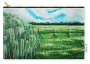 Where The Green Grass Grows Carry-all Pouch