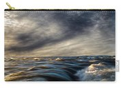 Where The River Kisses The Sea Carry-all Pouch