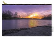 Where The Road Ends Carry-all Pouch