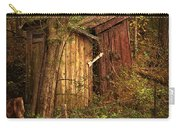 Which Way To The Outhouse? Carry-all Pouch by Priscilla Burgers
