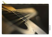 While My Guitar Gently Weeps Carry-all Pouch by Laura Fasulo