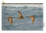 Whimbrel Trio In Flight Carry-all Pouch