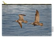 Whimbrels Flying Close Carry-all Pouch