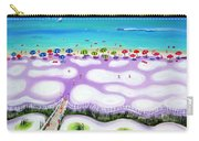Whimsical Beach Umbrellas - Seashore Carry-all Pouch