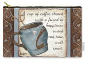 Whimsical Coffee 2 Carry-all Pouch by Debbie DeWitt