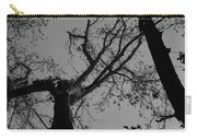 Silhouette Trees Carry-all Pouch