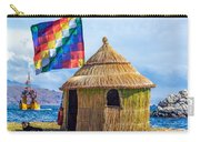 Whiphala Flag On Floating Island Carry-all Pouch