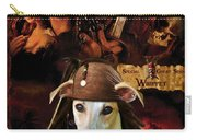 Whippet Art - Pirates Of The Caribbean The Curse Of The Black Pearl Movie Poster Carry-all Pouch