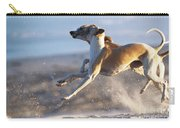 Whippet Dogs Fighting Carry-all Pouch