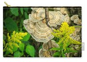 Whirled Turkey Fungus Carry-all Pouch
