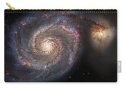 Whirlpool Galaxy 2 Carry-all Pouch by Jennifer Rondinelli Reilly - Fine Art Photography