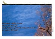 Whisper Softly Carry-all Pouch