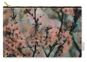 Whispering Cherry Blossoms Carry-all Pouch by Janice MacLellan
