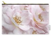 Whispers Of Pink Roses Carry-all Pouch