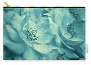 Whispers Of Teal Roses Carry-all Pouch