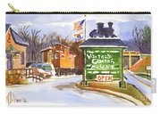 Whistle Junction In Ironton Missouri Carry-all Pouch
